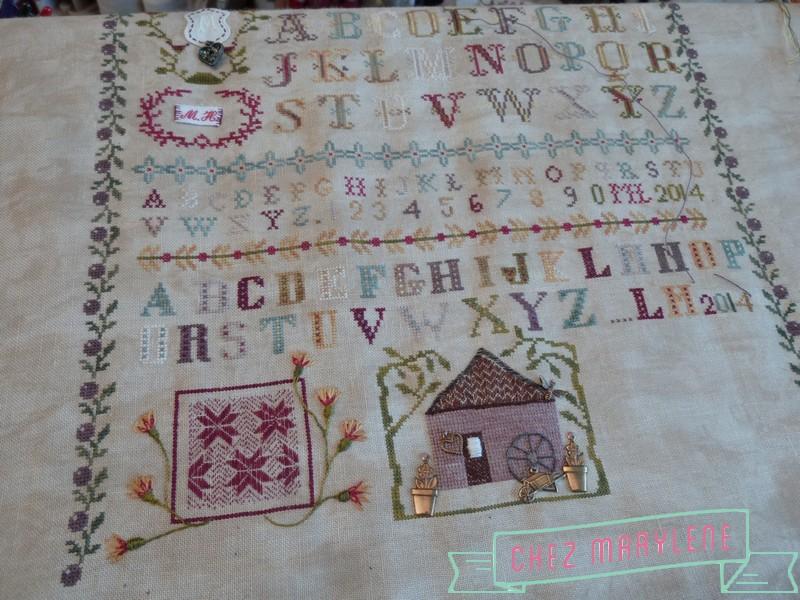 atelier patchwork - Sampler Marie Debruyne A. Cassel