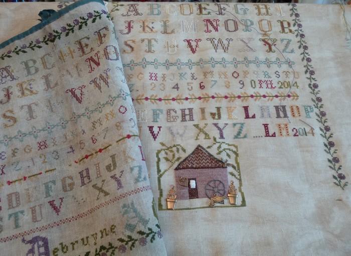atelier patchwork - sampler marie debruyne A.Cassel