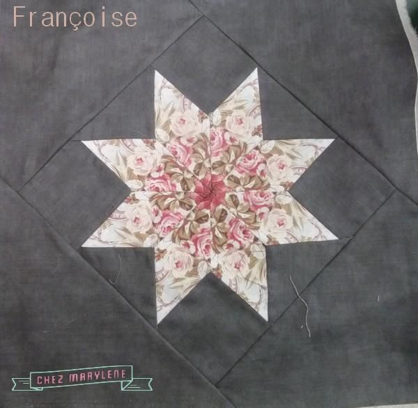 atelier-patchwork-étoile-brodée-françoise