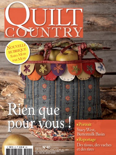 sac country atelier patchwork