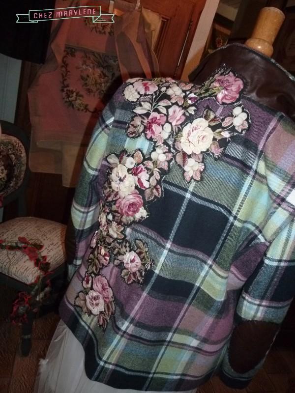 atelier patchwork-veste fleurie 2