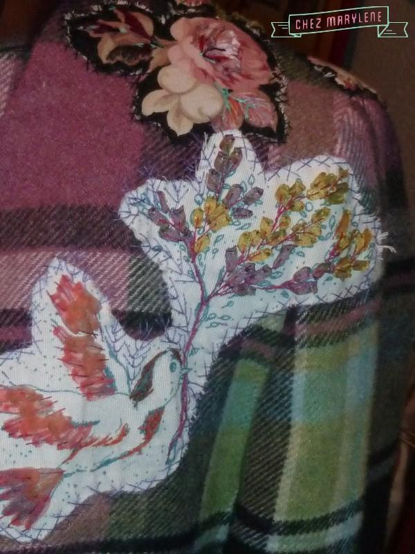 atelier patchwork-veste fleurie 5