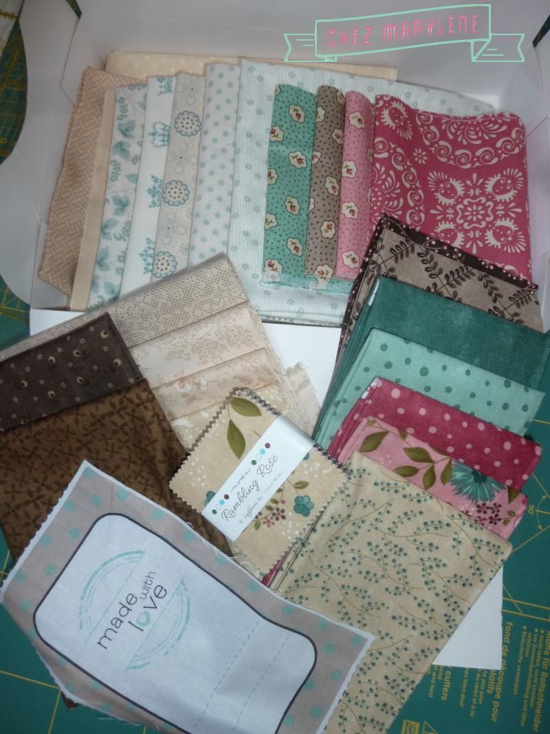 atelier patchwork quilt mystère 2015-2