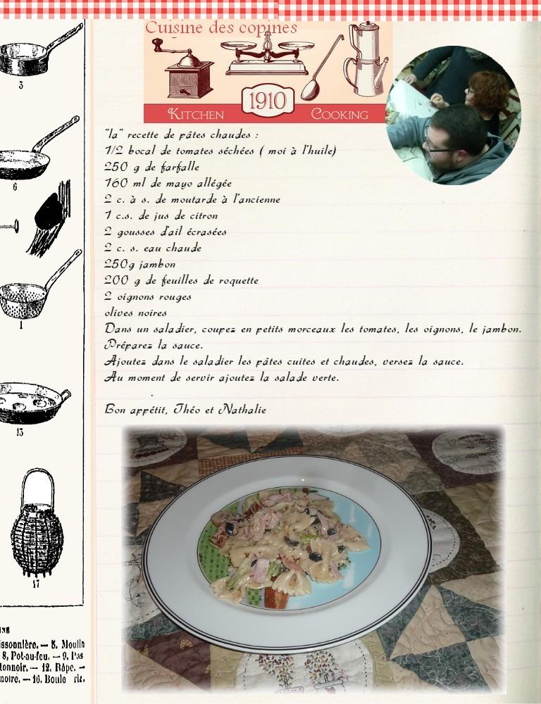 Salade pâtes chaudes1