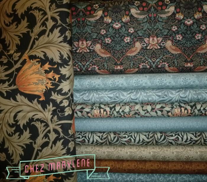 atelier patchwork - best of morris- vbarbara brackman