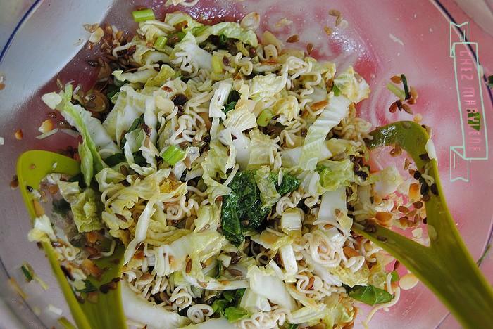 salade asiatique au nouille mie 4