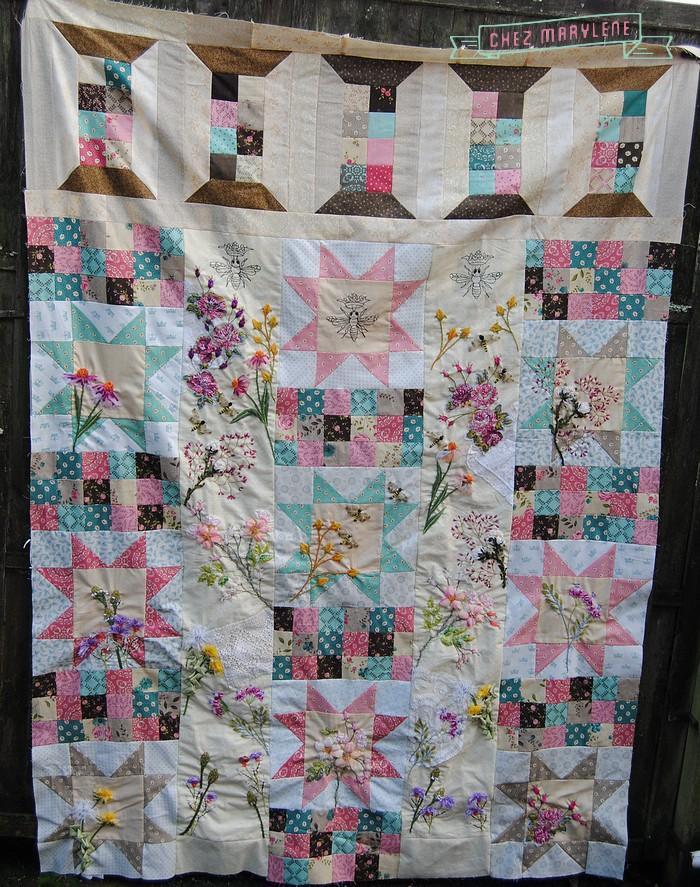 quilt mystère 2015-atelier patchwork - 2