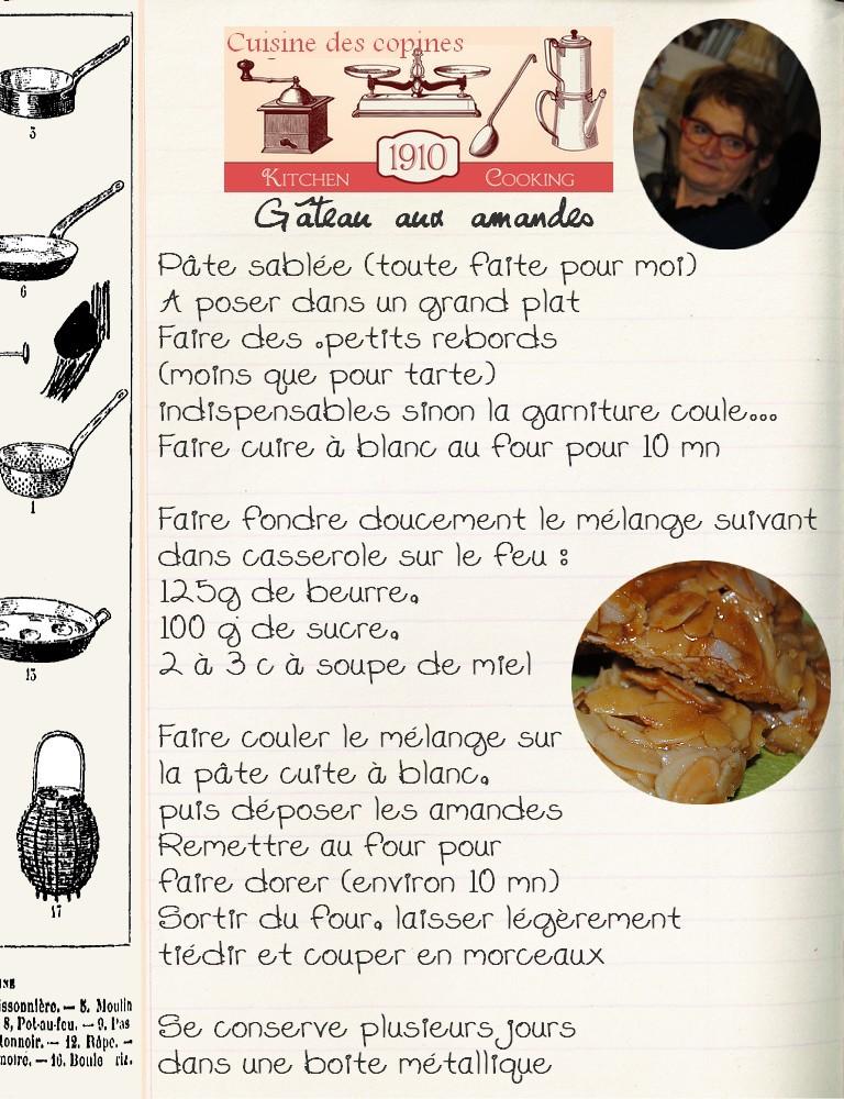 Gâteau aux amandes 1