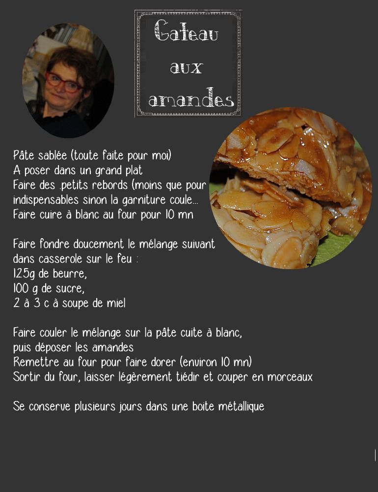Gâteau aux amandes 2
