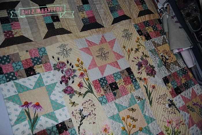 atelier patchwork et point compté - ruette - belgique - quilt mystère 2015 (2)