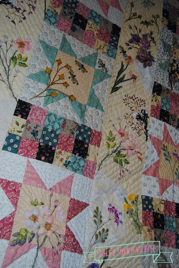 atelier patchwork et point compté - ruette - belgique - quilt mystère 2015 (4)