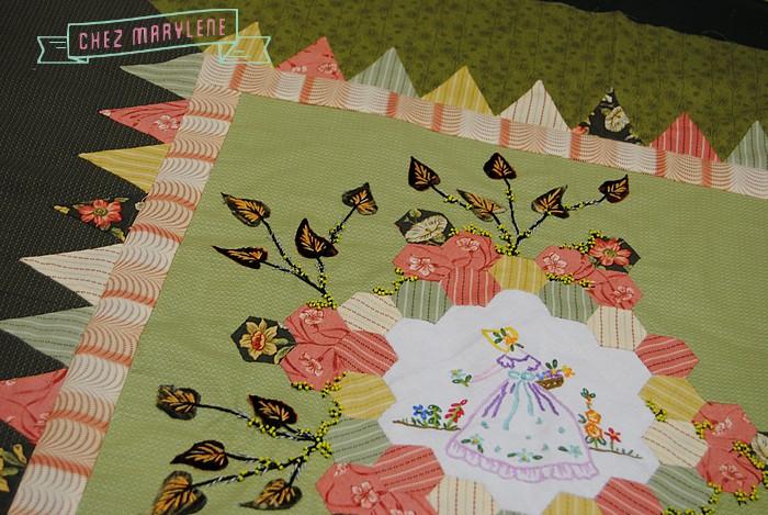 atelier patchwork et point compté - ruette - belgique - quilt mystère 2016