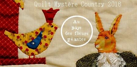 Au-pays-des-fleurs-géatnes-quilt mystère country 2016-atelier-patchwork