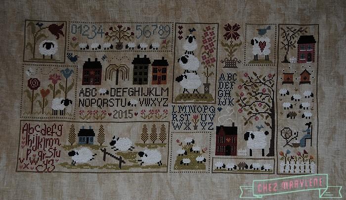 JARDIN PRIVE-histoire de moutons