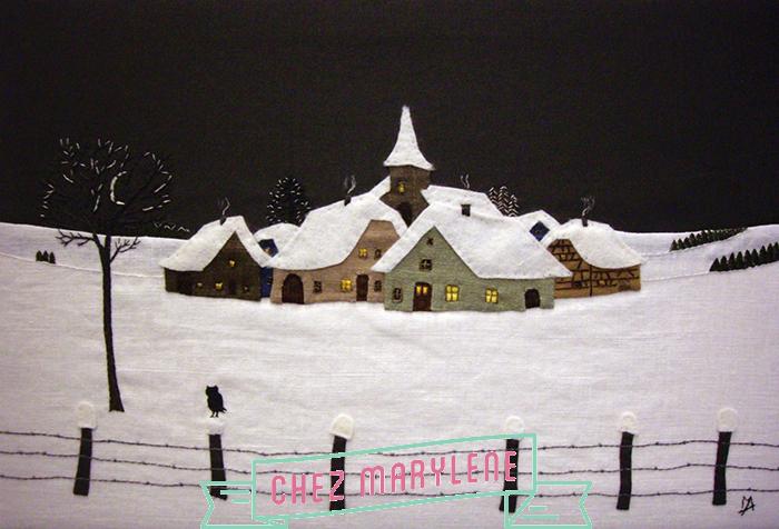 """""""nuit d'hiver à OBERLARG"""